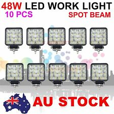 10X 48W 16 LED Spot Pencil work Lamp Light Trailer Off Road Boat Truck AU SHIP