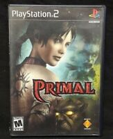 Primal  - PS2 Playstation 2 Game Tested Working