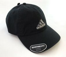 NWT Adidas Men's embroidered Logo Adjustable Black Baseball Ultimate Hat Cap