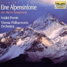 Strauss: Eine Alpensinfonie (An Alpine Symphony) - Previn/Vienna Phil O (NEW CD)