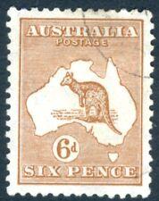 Australia - 1932 6d V15406 Castaño SG 132 Fine Used