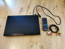 DVD Player Panasonic S500 mit Audio Kabel und Fernbedienung