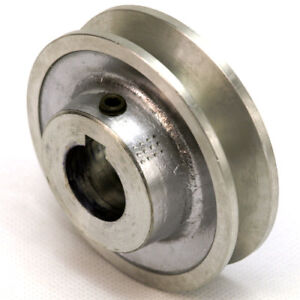 """Aluminium V Pulley 1 Groove A / SPA Section 2"""" - 4"""" Vee Pulley for V Belt"""