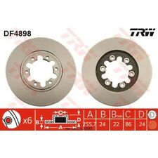 Bremsscheibe, 1 Stück TRW DF4898