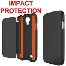 Genuino, originale Tech21 Impact Flip Case per Samsung Galaxy S4 GT i9505 COVER