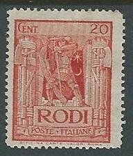 1932 EGEO PITTORICA 20 CENT MH * - K135