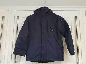 Lovely Boys NEXT Navy Lightweight Hooded Jacket 6 Years Fleece Lined