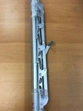 "Jalousie Strip Hardware 18"" JSH18 5 Blades For Louver Windows, 1 Pair, Aluminum"