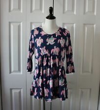 SIMPLY SOUTHERN Size M Ruffle Top Ivy Turtle NEW NWT Baby Doll