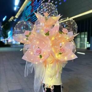 10/5/2pcs 12/18/20/24''Transparent Bobo Bubble Ballons Wedding Birthday Party er