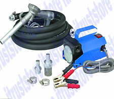 Battery Powered 12v Volt Diesel Light Oil Biodiesel Fuel Transfer Pump 10 GPM