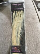 """Donna Bella hair extentions Milan #12 18""""10 piece NEW 100% remy human hair"""
