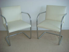 2 Authentic, New Knoll Brno Chairs - Tubular by Mies van der Rohe - Local Pickup