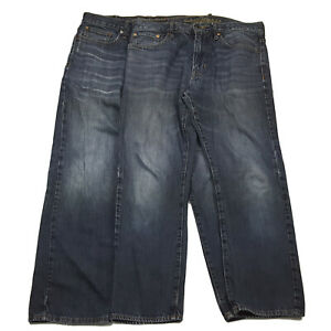 LOT OF 2 American Eagle Outfitters Mens Size 33 x 28 Relaxed Straight Jeans
