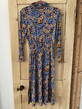 Very Maxi Colourful Longsleeve Dress Size 8