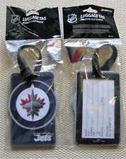 Winnipeg Jets - NHL Hockey 3d Rubberized Luggage Bag Tag