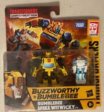 Transformers War For Cybertron Buzzworthy Bumblebee - Wfc Kingdom Core Class