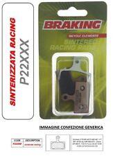BRAKING PASTIGLIE FRENO SINTERIZZATA RACING MTB RACE Shimano XT BR M785