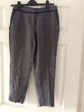 H & M Ladies Grey Three Quarter length  Trousers Size EUR 36