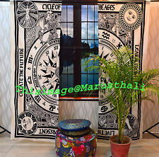 Indian Celtic Curtain Mandala Cotton Hippie Tapestry Door Decor Window Curtains