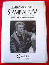 Terence Stamp Reads Stamp Album 5-Tape UNABR.Audio Book Actor Autobiography/Biog
