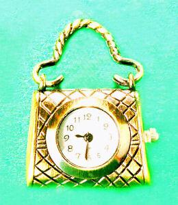 Miniature Ladies D.I.Y. Set - Handbag Clock, Knitter's Totes, Wool, Basket++