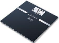Sanitas Fitness Bluetooth Personal Scale Black Measurement Watch SBF70 Glass