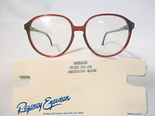 8a776399d8b Vintage Regency Eyewear Margie Ruby 58 18 Eyeglass Frame New Old Stock