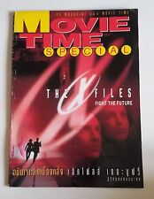The Making of The X Files Fight the Future Thai Special Magazine Book RARE!