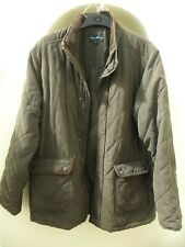 James Pringle quilted, fully lined jacket, size large