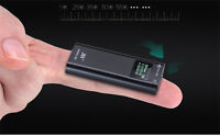 MINI SPY VOICE / SOUND ACTIVATED RECORDER MAGNET & CLIP MOUNT LONG BATTERY LIFE