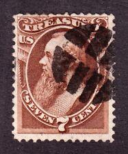 US O76 7c Treasury Department Used w/ False Teeth Fancy Cancel