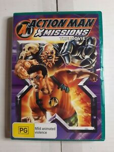 Action Man - XMissions - The Movie - Sealed R4 dvd