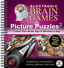 ELECTRONIC BRAIN GAMES: PICTURE PUZZLES #2 By Editors Of Publications Ltd. *VG+*