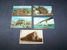 5  postcards of  Southampton Hampshire - all 5 are blank