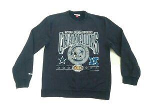 Mitchell & Ness NFL Dallas Cowboys Crewneck Sweatshirt Mens Large VTG Superbowl
