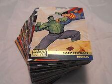 Marvel Versus Dc Complet de Base Lot de 100 Cards