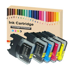 5 LC980 LC1100 ink Cartridge for Brother DCP 377CW 385C 395CN 585CW 6690CW 197 2