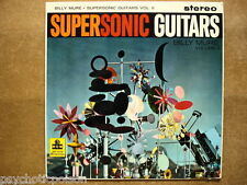 Billy Mure-supersonic Guitars 2 LP MGM CS 6011 uk 59 Charles Eames ART COVER