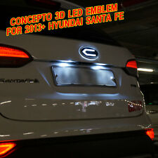 CONCEPTO LOGO LED EMBLEM BADGE SET FRONT /REAR SET for 2013+ HYUNDAI SANTA FE