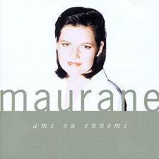 FREE US SHIP. on ANY 2 CDs! NEW CD Maurane: Ami Ou Ennemi Original recording rem