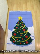 Fahnen Flagge Frohe Weihnachten Baum Banner - 90 x 150 cm
