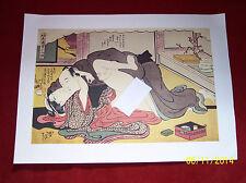 Estampe Japonaise érotique XXe A002