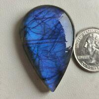 Blue Flashy Labradorite Cabochon Rectangle Shape Designer Dazzling Labradorite Gemstone Handmade Smooth Polished Gemstone For Jewelry G1500