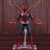Spider Man Marvel Avengers Infinity War Iron Spider Spiderman Action Figure PVC