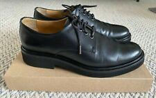 A.P.C. women's Autumn Derby shoes in black leather size 39 EU UK 6