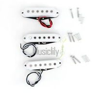 Musiclily Pro Neck Middle Bridge Single Coil Pickup Set For Strat ST Guitar