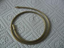 Pierre-Lang-Gold-Kette-Strickkette - Collier(50cm)