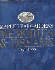 MAPLE LEAF GARDENS Memories Hockey 1931-1999 BOOK Beatles Elvis Ali