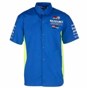 Official Ecstar Suzuki MotoGp Team Shirt - 17SMGP-PS